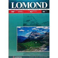 Фотобумага Lomond глянцевая 140г/м кв, A3, 50л (0102066)
