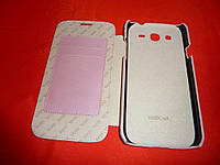 Чехол книжка для телефона Samsung I9150 I9152 / Galaxy Mega розовый Vetti Craft