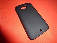 Чехол для телефона HTC Desire 200 черный силикон
