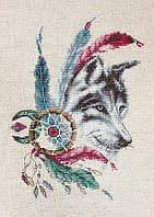 """Набор для вышивания крестом """"Luca-s"""" B2305 Волк"""