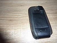 Книжка / чехол флип для телефона Nokia Lumia 710 ILLUSION черная Кожа!!!