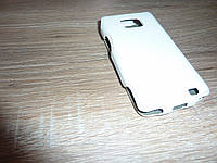 Samsung S2 I9100 чехол флип / книжка для телефона OZAKI белая Кожа!!!