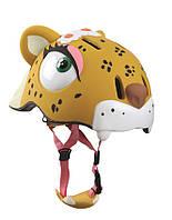 Защитный шлем CRAZY SAFETY Leopard (прорезиненный)
