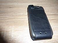 Чехол флип / книжка для телефона HTC One S ILLUSION Кожа!!!