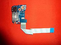 Плата Acer ES1 / Z5W1N LS-B471P / 455MNVBOL01 Rev: 1.0 (кнопка включения со шлейфом и USB разъемом)