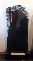 Памятники из гранита фото цена.  Памятник гранитный с лучами