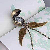 Часы карманные Стильный шарик с крыльями