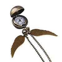 Часы карманные Стильный шарик с крыльями Гарри Поттер, фото 1