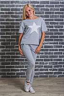 Костюм женский футболка +штаны
