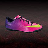 Детская футбольная обувь (футзалки) Nike Mercurial Victory IC Jnr (оригинал), фото 10