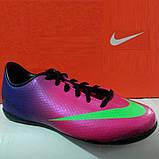 Детская футбольная обувь (футзалки) Nike Mercurial Victory IC Jnr (оригинал), фото 4