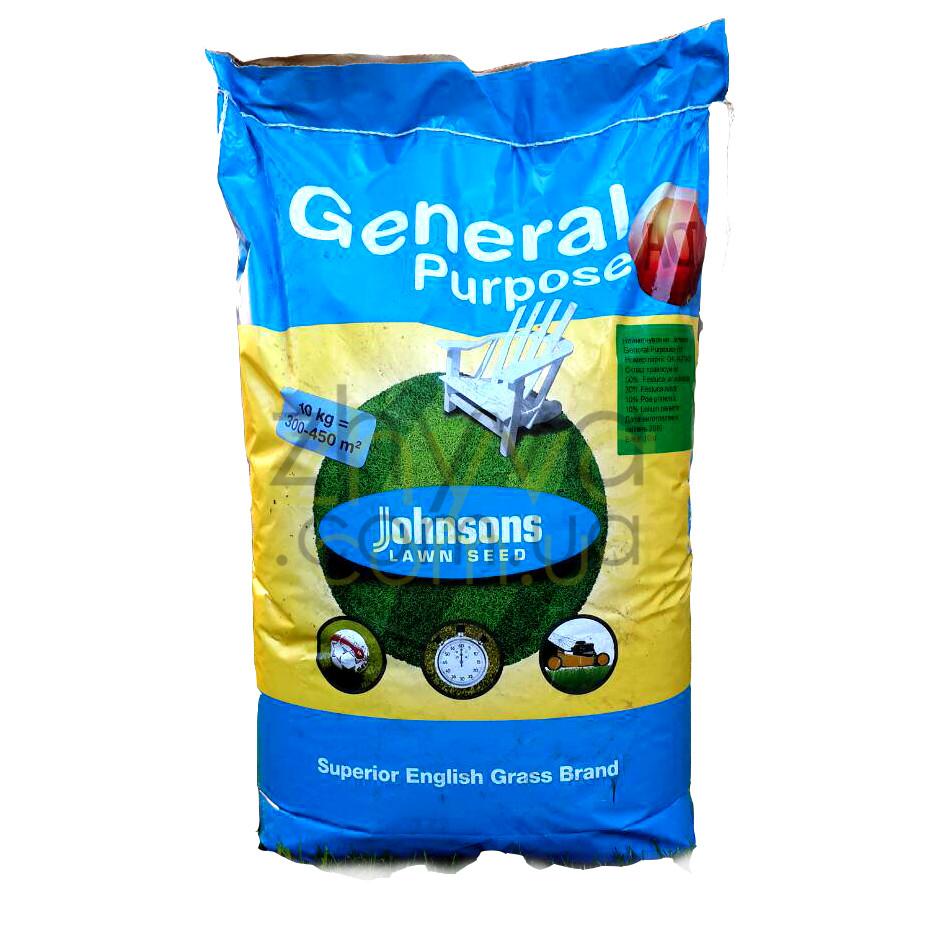 Газон універсальний Johnsons Hot 10 кг  / Газонная трава универсальная (Дания) 10 кг