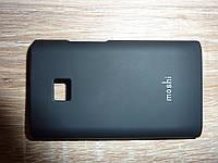 Чехол накладка для телефона LG E430 L3 черный Moshi