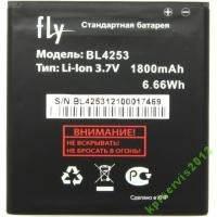 Аккумуляторная батарея Fly BL4253 (IQ443) Корея, фото 2