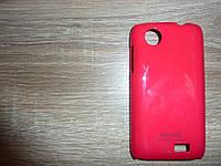 Накладка чехол для телефона Lenovo A369 красный