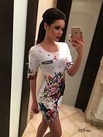 Платье мини с принтом 019 ян, фото 1