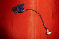 Плата Samsung RV408 / BA92-06902A (кнопка включения с USB)