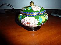 Винтажная шкатулка для украшений ручной росписи