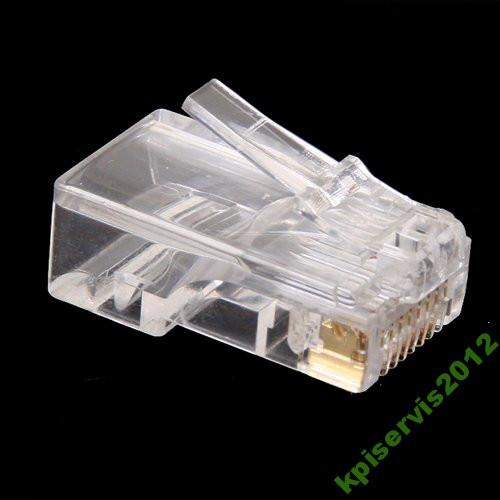 Конектор мережевий для вита пара 8р8с (RJ-45)
