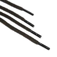 Шнурок 5 мм круглый хаки с наполнителем 80 см