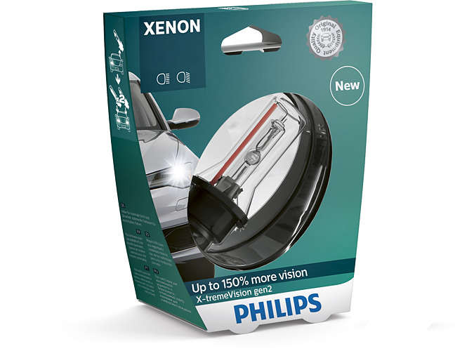 Ксенон Philips D4S X-tremeVision gen2