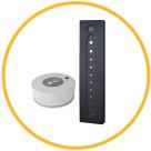 Управление яркостью светильников LINEA с помощью дистанционного пульта