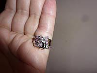 Обручальное серебряное  кольцо с натуральными рубинами