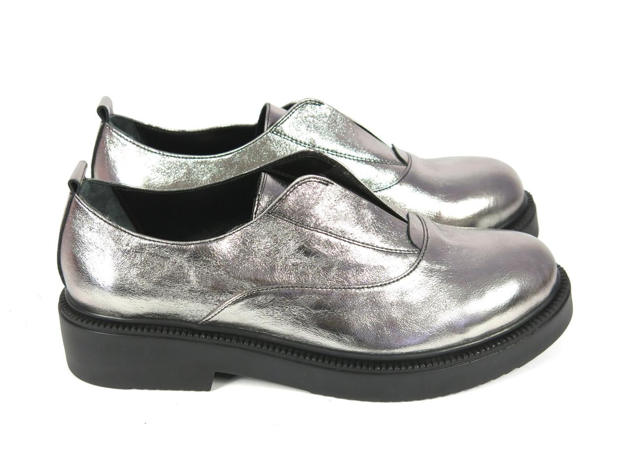 Туфли тренд 2016 года серебро