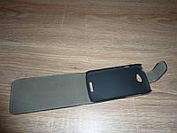 Чехол флип / книжка для телефона HTC One S черная