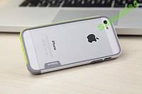 Trio Series бамперa Walnutt для iPhone 5/5S