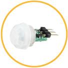 Управление яркостью светильников LINEA с помощью сенсорного датчика движения