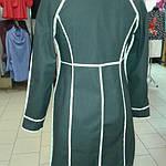 Плащ женский черный джинсовый  реглан, фото 6