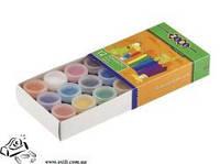 Краски гуашевые Zibi 10мл 12 цветов 6601