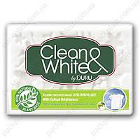 Хозяйственное мыло Duru Clean&White отбеливающее, 4х125гр