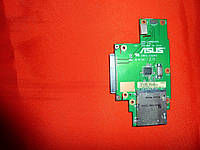 Плата Asus K50AF / K50I_CARDREADER REV: 2.0 (HDD и картридера)