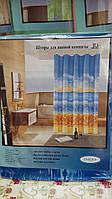 Красивая шторка для ванной комнаты, 180х180 см., 90/78 (цена за 1 шт. + 12 гр.)