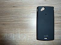 Чехол для телефона Sony X12 Moshi черный