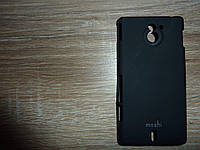 Чехол для телефона Sony Xperia sola / MT27i черный moshi