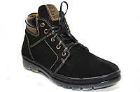 Мужские ботинки (арт.Кэт 2 чер. нуб.), фото 1