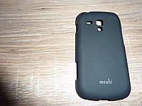 Чехол накладка для телефона Samsung S7562 / Trend Duos черный Moshi