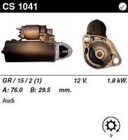 Стартер на AUDI A6 4.2 quattro, S6 quattro, A8 3.7, 3.7 quattro, 4.2 quattro, S8 quattro, 0001110100