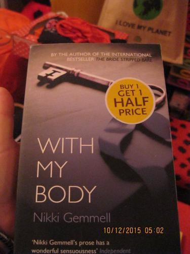 GEMMELL книга АНГЛИЙСКОМ ЯЗЫКЕ роман WITH MY BODY
