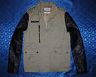 Bershka косуха, женская модная куртка с шипами,кож