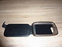 Чехол флип / книжка для телефона HTC Desire C A320e ILLUSION черная