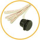 Включение/віключение светильников LINEA с помощью датчика руки