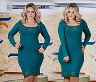 Платье женское больших размеров 2586 гл