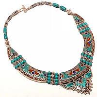 Ожерелье в этностиле ручной работы