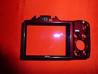 Корпус Nikon L610 Coolpix (задняя часть, стекло дисплея) красный