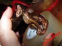 Фигурка настольный неновая из коллекции сувенир статуэтка ЕГИПЕТ кошка цвет под бронзу , фото 1