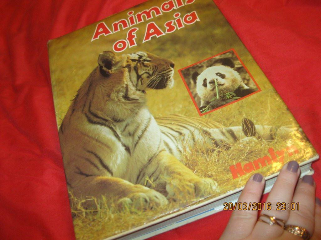Jiri Felix Animals of Asia книга атлас энциклопедия БОЛЬШАЯ СТАРАЯ на английском языке животные АЗИИ